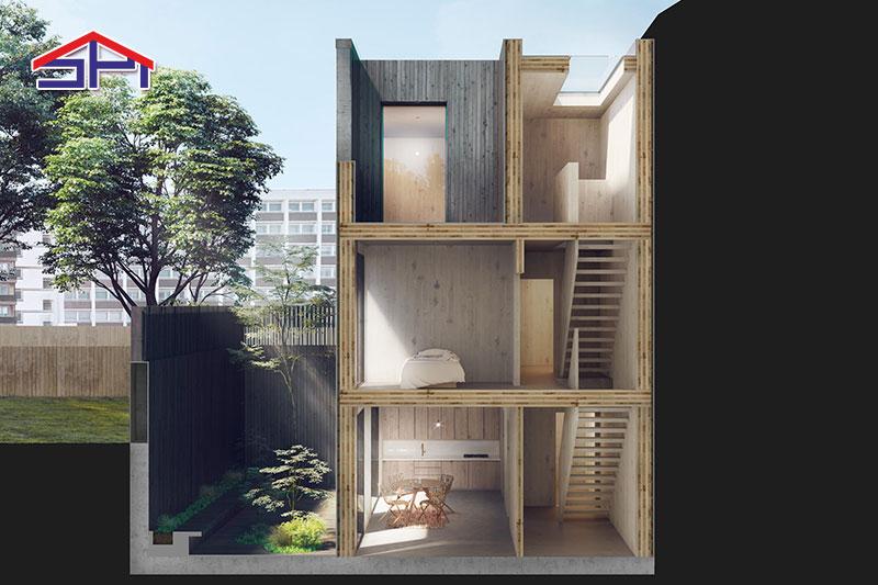 4 Macam Model Bangunan Modular Dengan Desain Memukau
